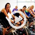 Participants in Spin class
