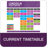Read our current term timetable