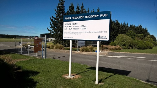 Image of PRRP entrance sign