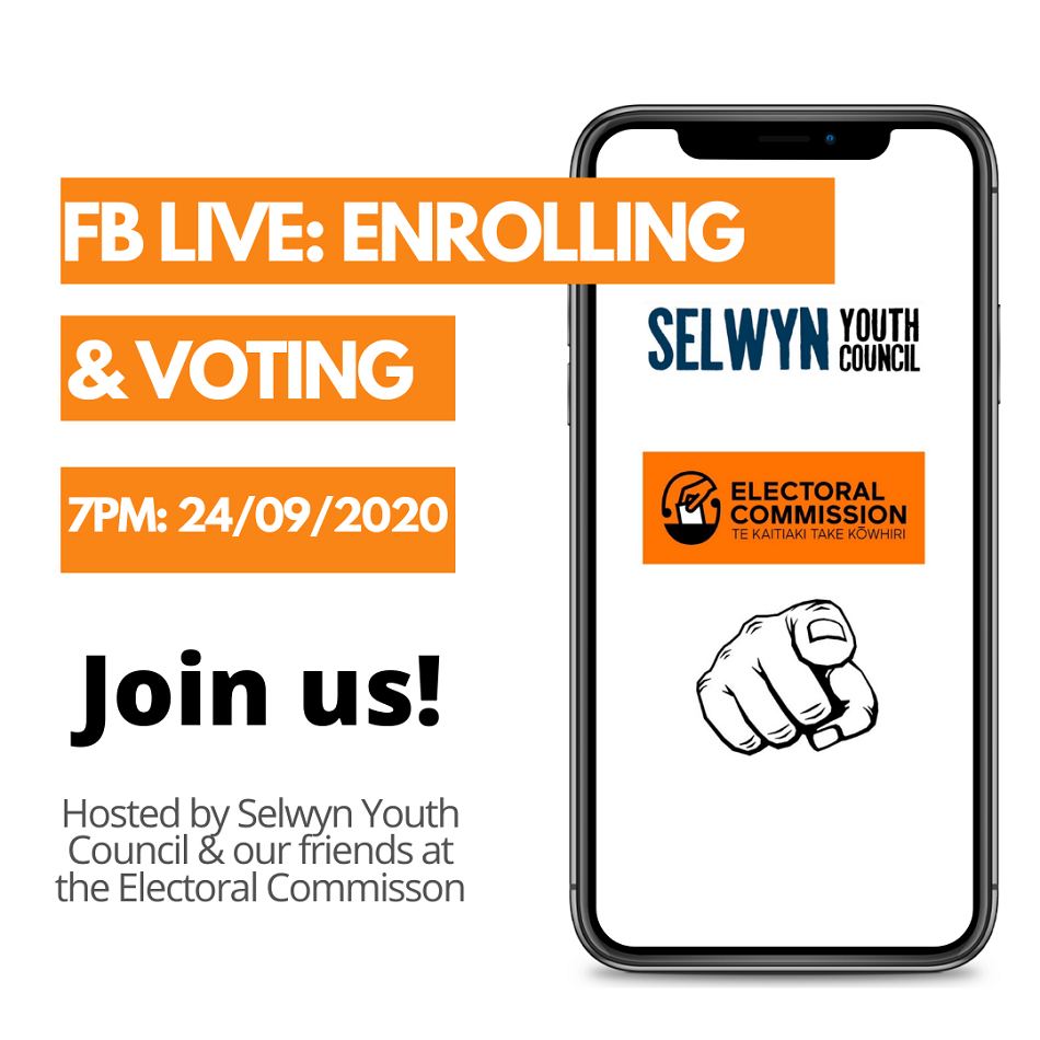 FB Live: Enrolling and voting