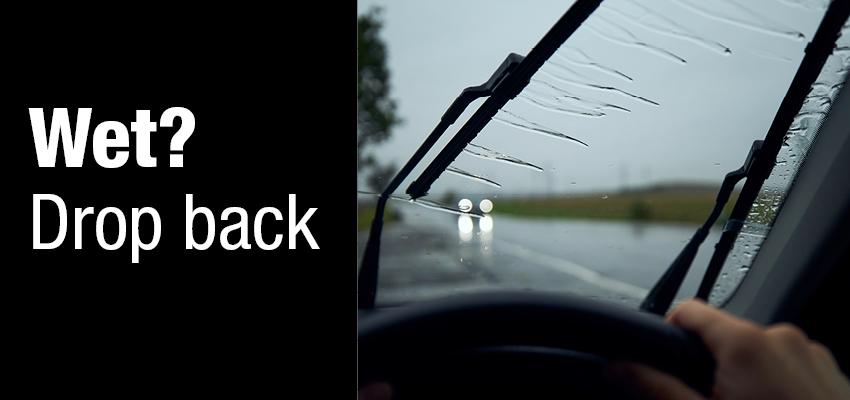 Wet driving