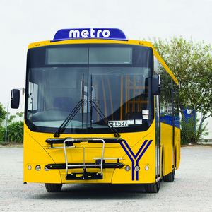 Yellow line bus