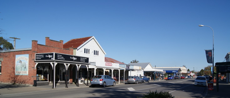 Photo Leeston main street