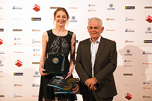 Young Achiever winner