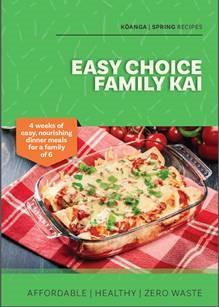 Image of Easy Choice Family Kai Cookbook
