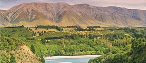 Photo of the Rakaia River