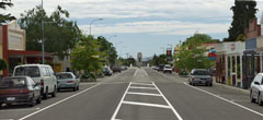 Photo of Leeston main road