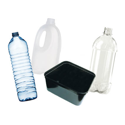 Image of plastic containers