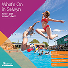 Term 1 What's On in Selwyn Brochure