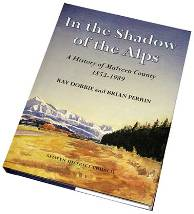 Book cover: in the shadow of the alps
