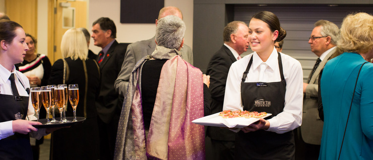 Food and drink service at the Sensational Selwyn Awards