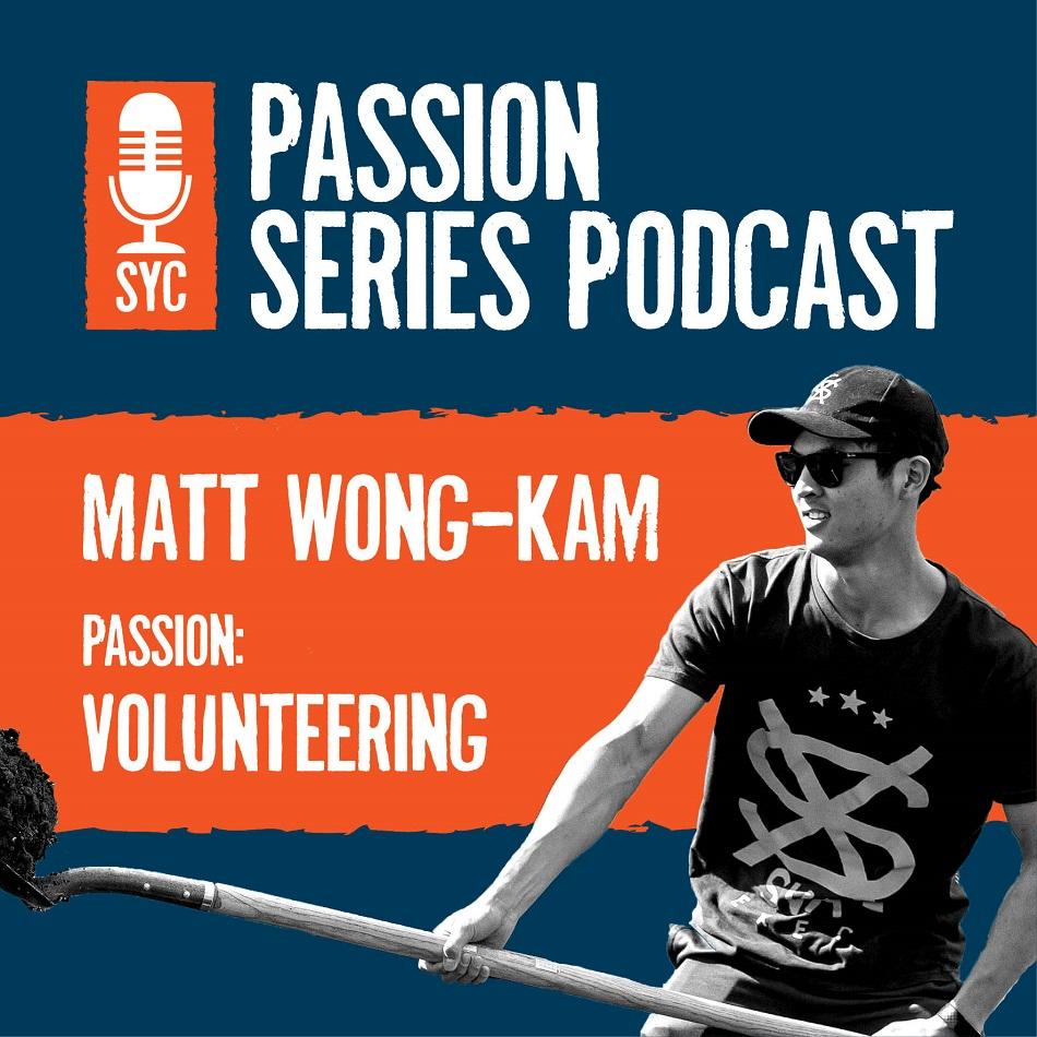 Matt Wong Kam Podcast series man with shovel