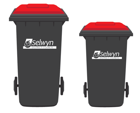 Image of Rubbish Wheelie Bins