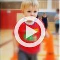 Mini Gym class boy running