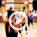 Pump class, lifting weights