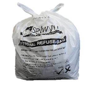 Image of Official Council Refuse Bag