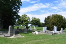 Photo taken in Bishops Corner Cemetery