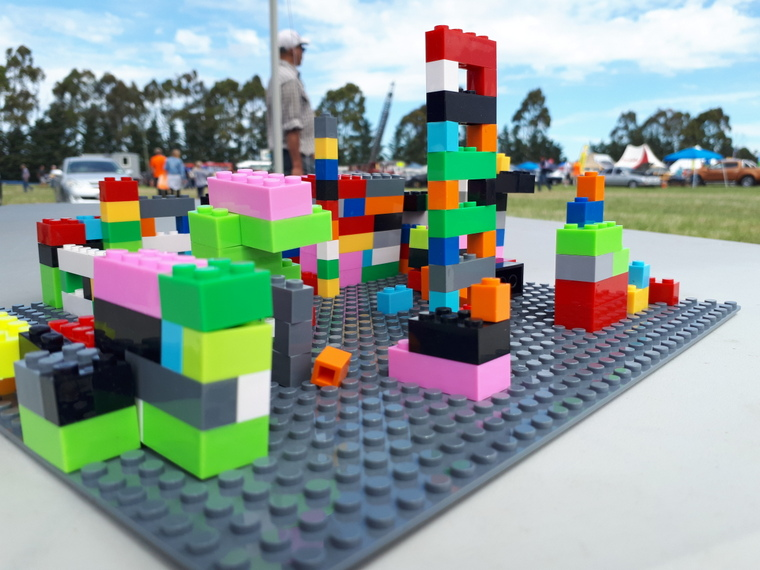 Lego construction ideas from area children