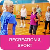 Link to Recreation and Sport information
