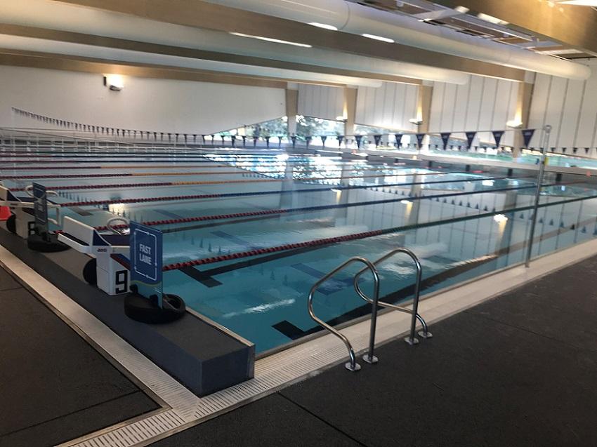 The new pool at Selwyn Aquatic Centre