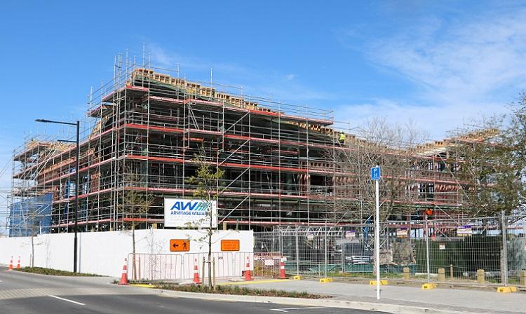 Te Ara Atea under construction