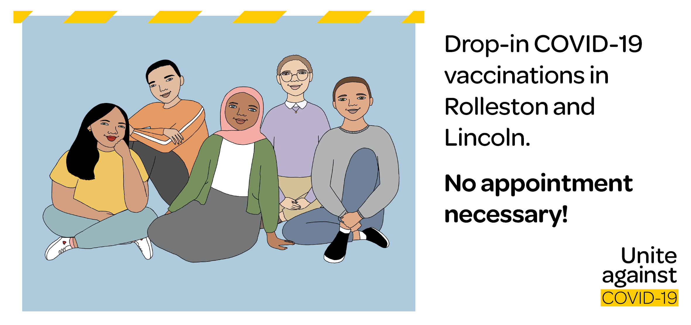 image for drop-in vaccination clinics