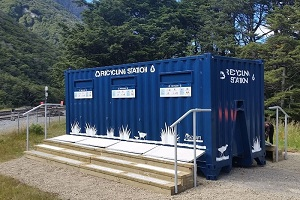 Image of Arthur's Pass recycle station