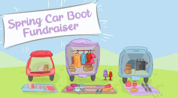 Spring car boot fundraiser